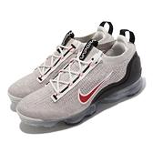 Nike 慢跑鞋 Air Vapormax 2021 FK 灰 紅 男鞋 再生材質 氣墊【ACS】 DH4085-003