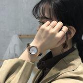 正韓簡約文藝復古百搭小清新手錶女學生森女系細帶氣質腕錶女 【快速出貨】