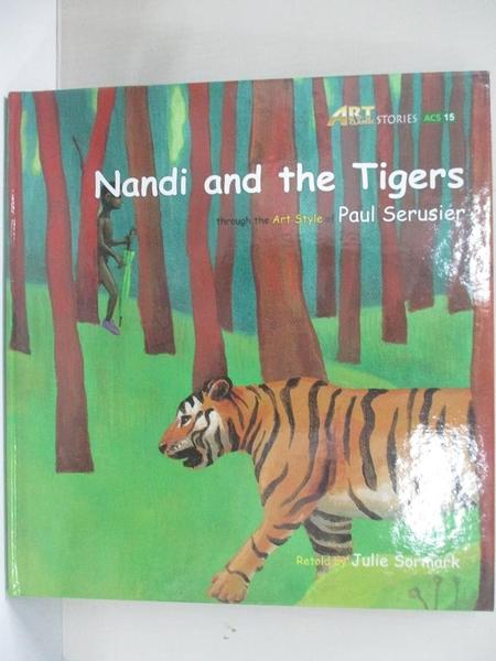 【書寶二手書T1/少年童書_DHC】Nandi and the tigers_original Korean text by Jinrak Kim