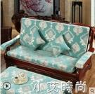 實木紅木質沙發墊帶靠背連體加厚中式四季防滑定做春秋椅海綿坐墊 NMS小艾新品