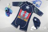 韓國兒童泳衣寶寶男童男童連體泳裝防曬速幹小中大童泳衣