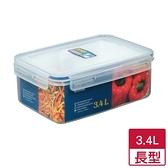 天廚長型保鮮盒3.4L【愛買】