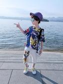 男童夏季套裝夏裝兒童洋氣帥氣男孩兩件套韓版【奇趣小屋】