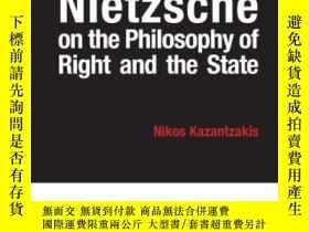 二手書博民逛書店Friedrich罕見Nietzsche On The Philosophy Of Right And The S