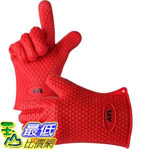 [104美國直購] AYL Silicone Heat Resistant Grilling BBQ Gloves 烤肉 烤箱 鑄鐵鍋 廚房專用 矽膠手套