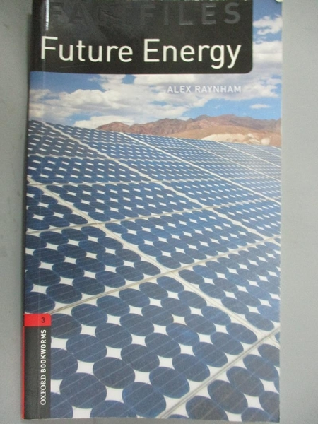 【書寶二手書T7/大學理工醫_NIO】Future Energy, Oxford Bookworms Library_A