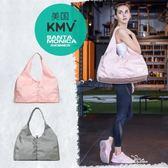 健身包女包潮單肩瑜伽包行李輕便運動手提短途旅遊包乾濕分離韓版『夢娜麗莎精品館』