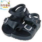 《布布童鞋》TOPUONE台灣製超輕量深藍色兒童涼鞋(15~20公分) [ C8A350B ]