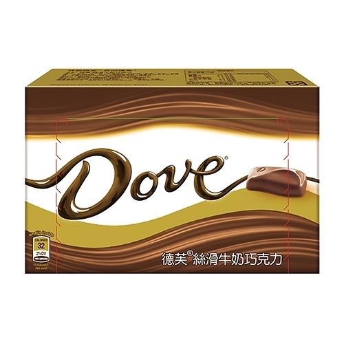 德芙絲滑牛奶巧克力108g【愛買】