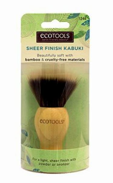 ecotools竹製蜜粉刷 SHEER FINISH KABUKI