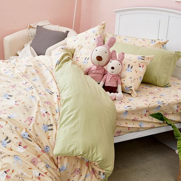 床包 / 雙人【妮妮公主】含兩件枕套  100%精梳棉  戀家小舖台灣製