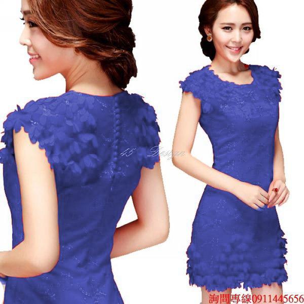 (45 Design) 來圖訂製款. 加大尺吋中大尺碼~媽媽禮服洋裝.(可定製XXS~ 5XL 6XL 7XL 8XL 9XL 加大)