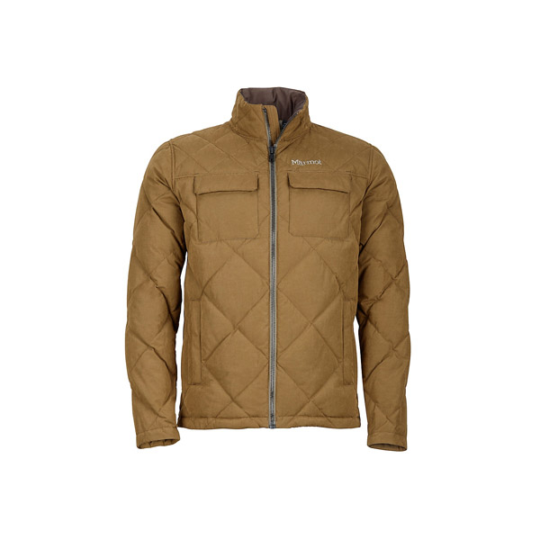 [Marmot] (男) Burdell Jacket 都會休閒保暖外套 淺咖啡 (M81700-7200)