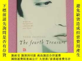 二手書博民逛書店The罕見fourth treasure(英文原版)Y23634
