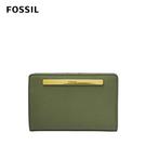 FOSSIL LIZA 真皮多功能短夾-橄欖綠 SL7986355