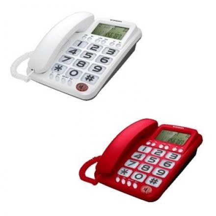 【WONDER旺德】大鈴聲來電顯示有線電話 WT-06