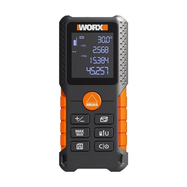worx激光測距儀WX087 高精度測量尺量房電子尺紅外線手持測量儀器 ATF 夏季狂歡