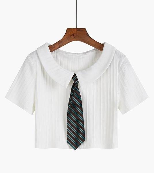 polo衫短袖t恤女