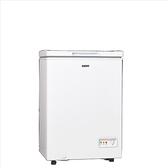 聲寶【SRF-102】98公升臥式冷凍櫃