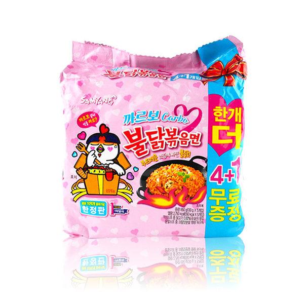 韓國 SAMYANG 莫札瑞拉起司辣雞麵 5入/袋 ◆86小舖 ◆