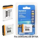 Kamera 通過BSMI認證 SAMSUNG BP-70A 高容量相機鋰電池