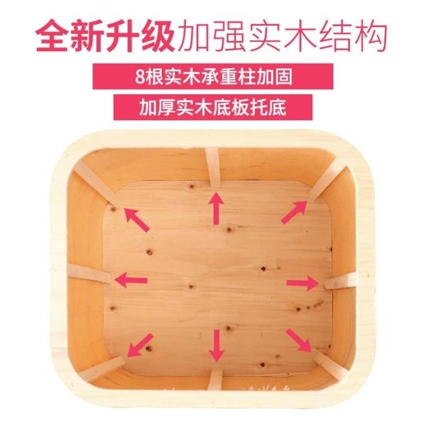 收納椅 多功能收納凳實木時尚沙發人可坐儲物皮凳子家用櫃椅子箱小換鞋椅 DF 維多原創