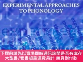 二手書博民逛書店Experimental罕見Approaches To PhonologyY464532 Maria-jose