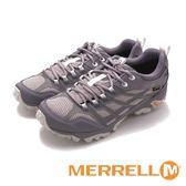 MERRELL MOAB FST GTX 防水戶外多功能鞋登山健行男鞋-灰