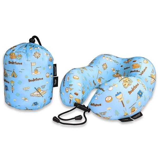 murmur 蛋黃哥 露營 旅行頸枕 記憶頸枕 U型枕 收納U型記憶舒壓頸枕