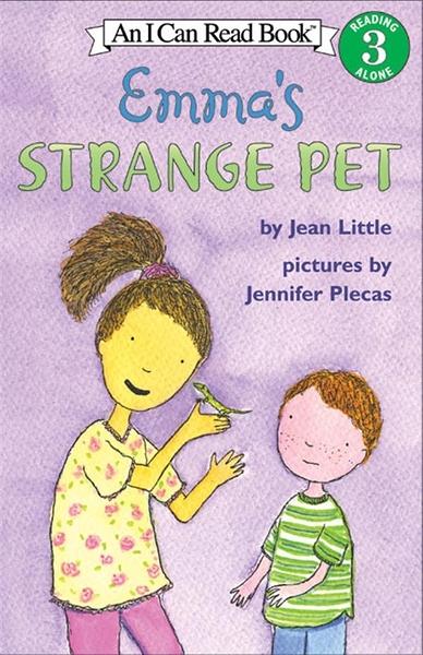 (二手書)An I Can Read Book Level 3: Emma's Strange Pet