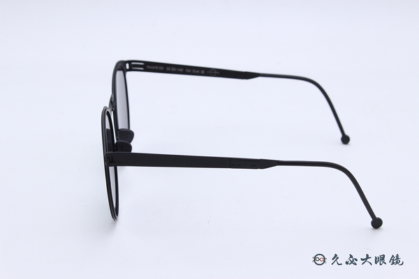ROAV 偏光太陽眼鏡 Riviera - Mod.8103 ( 霧黑框/黃水銀 ) 薄鋼折疊墨鏡