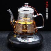 耐熱高溫玻璃蒸茶壺蒸茶器燒水養生壺電磁爐電陶煮茶壺黑茶蒸汽壺 NMS 露露日記
