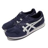 Asics 休閒鞋 Curreo II 深藍 白 復古慢跑鞋 男鞋 女鞋 亞瑟士【ACS】 HN7A05896