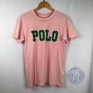 BRAND楓月 POLO Ralph Lauren 粉色LOGO T-SHIRT 服飾 服裝 上衣 #XS 經典標誌