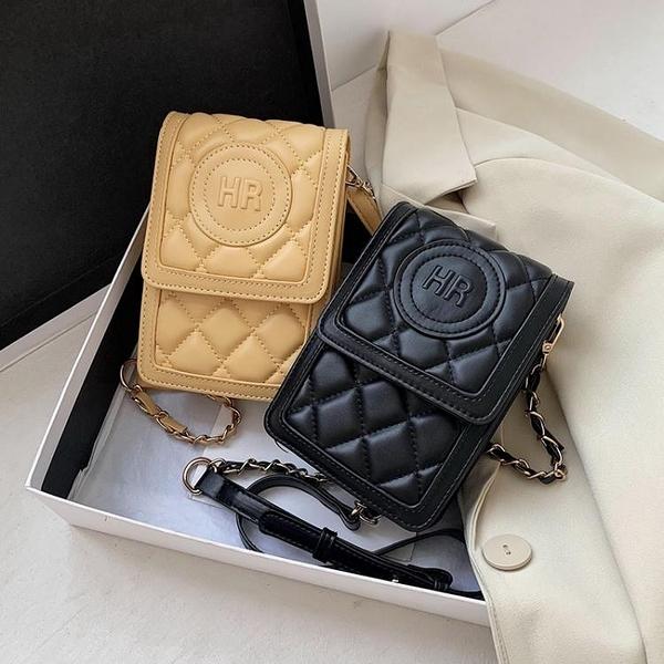 手機包 上新小包包2021夏季新款潮時尚流行斜背包網紅百搭ins女士手機包 伊蘿