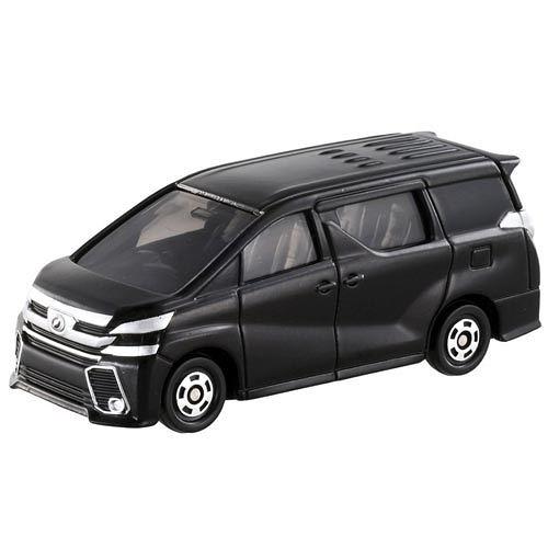 TOMICA NO.084 豐田Vellfire 黑色_TM084A 多美小汽車