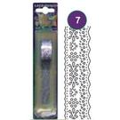 《享亮商城》WLB02-3 紫色 自黏紙蕾絲花邊 AP