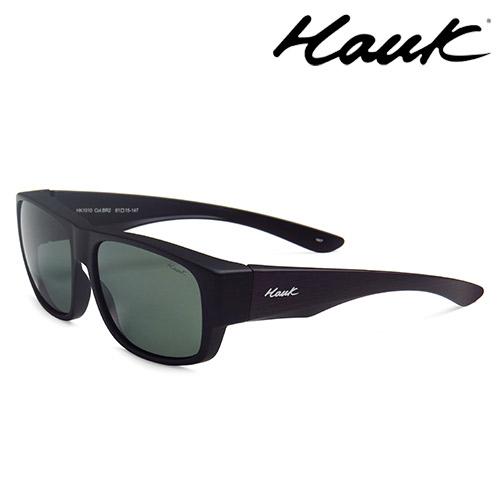 HAWK偏光太陽套鏡(眼鏡族專用)HK1010-BR2