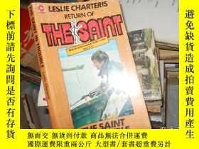 二手書博民逛書店THE罕見SAINT IN TROUBLE Leslie Cha