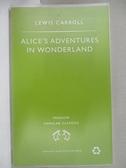 【書寶二手書T1/原文小說_CZM】Alice s Adventures in Wonderland_CARROLL