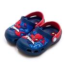 LIKA夢 MARVEL 漫威 15cm-19cm 蜘蛛人 SPIDER-MAN 輕量兒童園丁涼、拖鞋 台灣製造 藍紅 99076 小童