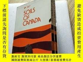 二手書博民逛書店SOILS罕見OF CANADA【3本書+2份大張地圖】Y108