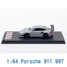 M.C.E. 1/64 模型車 Porsche 保時捷 911 997 MCE640002A 灰色