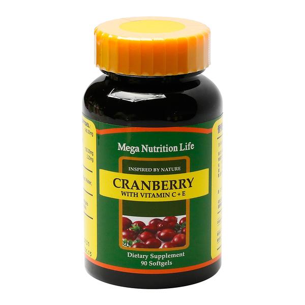 營養生活蔓越莓Ⅱ軟膠囊 90顆/瓶