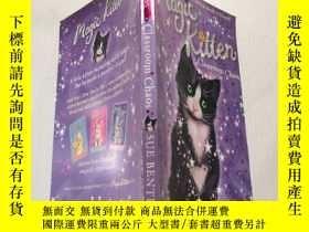 二手書博民逛書店magic罕見Kitten :Classroom Chaos:魔法小貓:教室混亂.Y200392