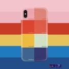 彩色少女iPhone xs max/xr/7/8plus蘋果X手機殼11/11promax全包軟  快速出貨