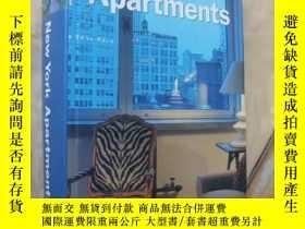 二手書博民逛書店NEW罕見YORK Apartment 《紐約的公寓設計》英文原