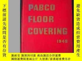 二手書博民逛書店PABCO罕見Floor Covering(1949)精裝Y342 PABCO PABCO 出版1949