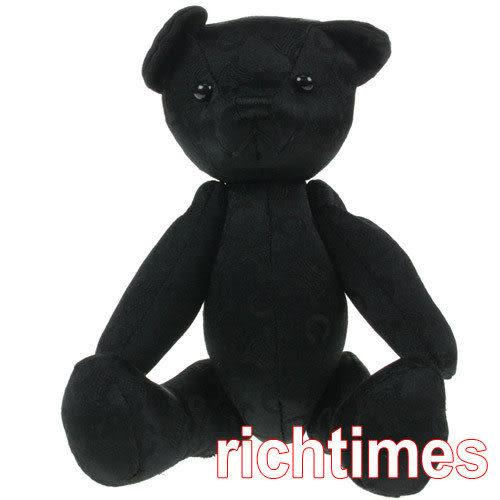 CELINE小熊手巾禮盒(黑)~日本進口CE591031