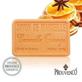 PROUVENCO法國原裝普羅旺詩香氛馬賽皂250G-甜橙肉桂